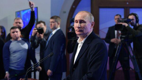 Предвыборный штаб кандидата в президенты РФ В. Путина - Sputnik Грузия