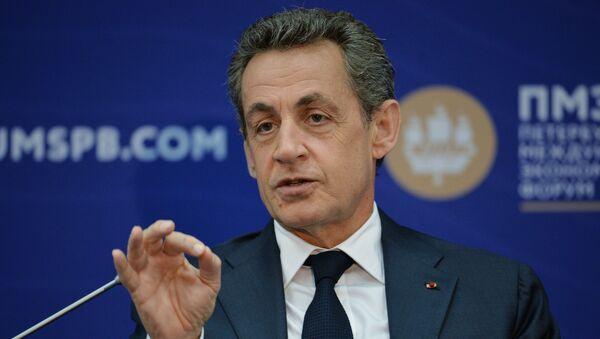 Беседа с экс-президентом Франции Н. Саркози в рамках ПМЭФ - Sputnik Грузия