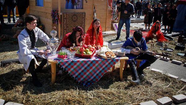 Празднование Новруза в Марнеули - Sputnik Грузия