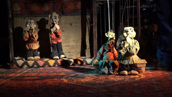 Как работает тбилисский театр марионеток имени Гарри Давтяна - Sputnik Грузия