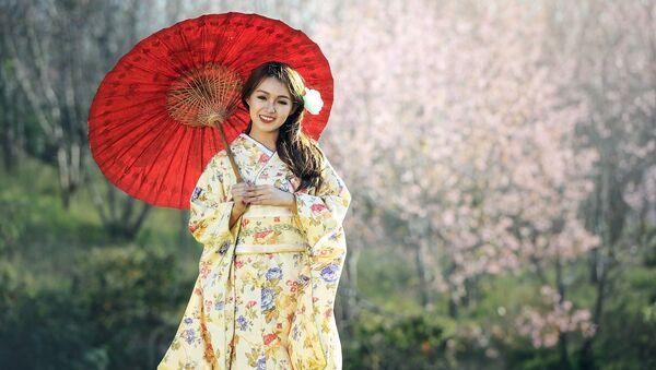 იაპონელი ქალი - Sputnik საქართველო