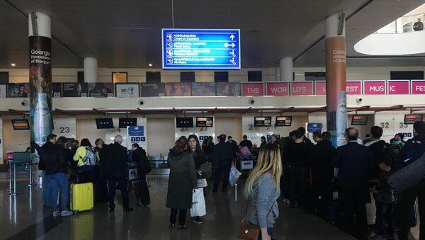 Зал отлета - Тбилисский международный аэропорт - Sputnik Грузия