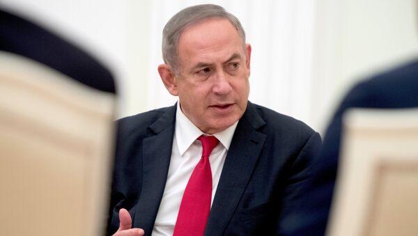 Премьер-министр Израиля Биньямин Нетаньяху - Sputnik Грузия