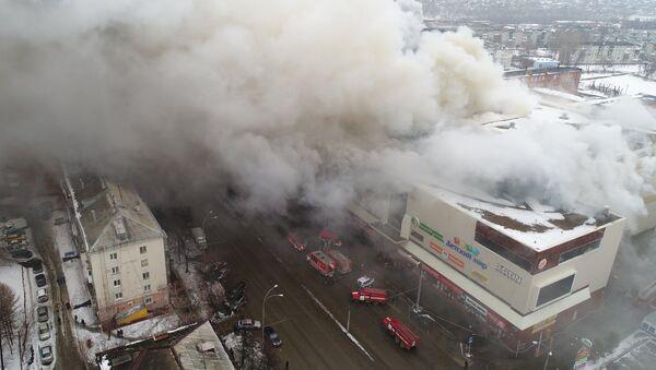 Пожар в торговом центре Зимняя вишня в Кемерово  - Sputnik Грузия