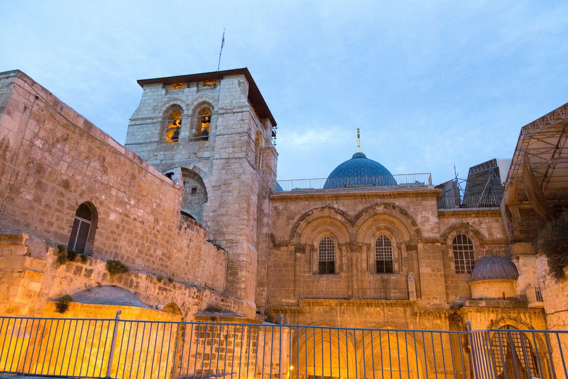 Храм Гроба Господня в Иерусалиме - Sputnik Грузия, 1920, 14.09.2021