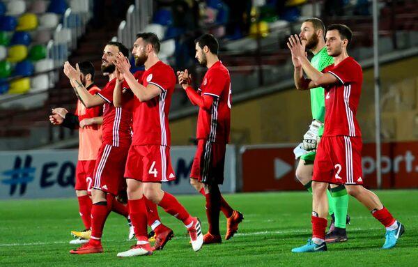 Следующий товарищеский матч сборная Грузии проведет в начале июня против Люксембурга. Точное время и место проведения встречи уточняются - Sputnik Грузия