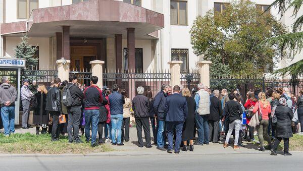Кемерово, мы с тобой: в Тбилиси почтили память жертв трагедии - Sputnik Грузия