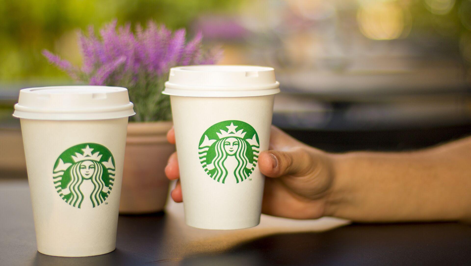 ყავა Starbucks - Sputnik საქართველო, 1920, 08.02.2021