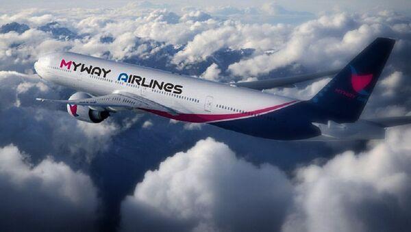 ავიაკომპანია MyWay Airlines-ის თვითმფრინავი - Sputnik საქართველო