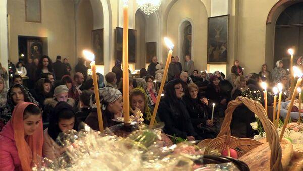 В Грузии представители армянской диаспоры отметили праздник Святой Пасхи - Sputnik Грузия