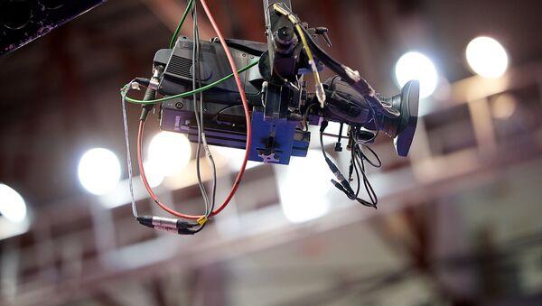 Телевизионная камера прямой трансляции - Sputnik Грузия