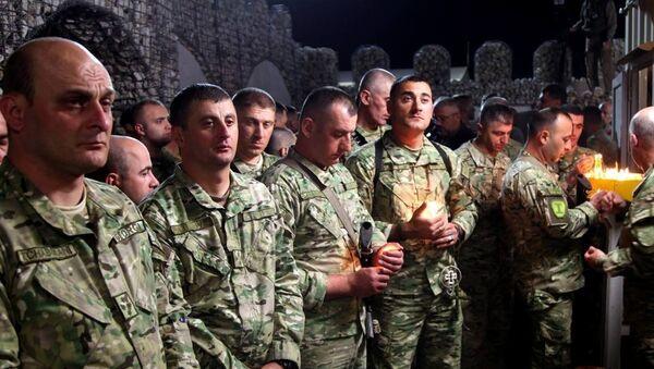 აღდგომის დღესასწაული ავღანეთის ქართულ მისიაში - Sputnik საქართველო