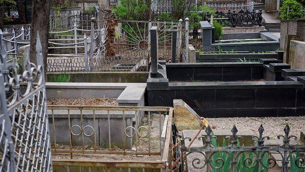 Могилы и надгробья на Кукийском кладбище - Sputnik Грузия