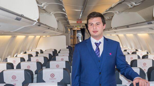 Журналист меняет профессию - стюард - Sputnik Грузия