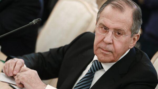 რუსეთის საგარეო საქმეთა მინისტრი სერგეი ლავროვი - Sputnik საქართველო