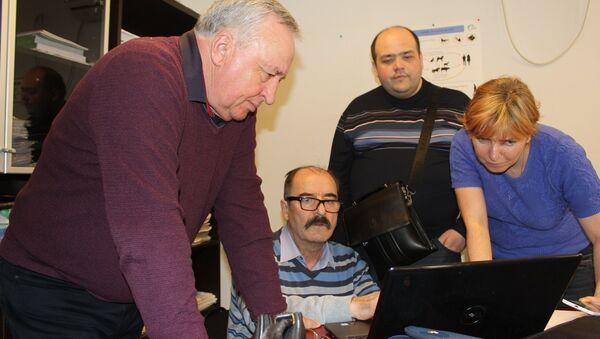 Специалисты Россельхознадзора на встрече с грузинскими специалистами - Sputnik Грузия