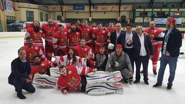 Сборная Грузии по хоккею - Sputnik Грузия