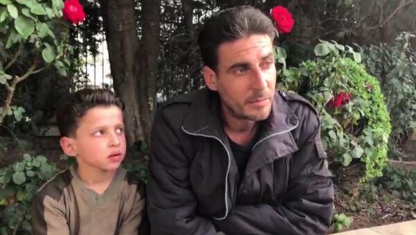 Мальчик из видео про химатаку в Сирии рассказал про съемку - Sputnik Грузия