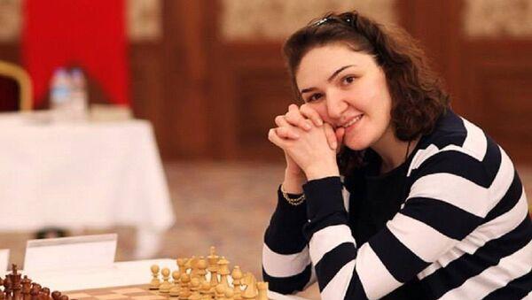 Лидер женской сборной Грузии по шахматам Нана Дзагнидзе - Sputnik Грузия