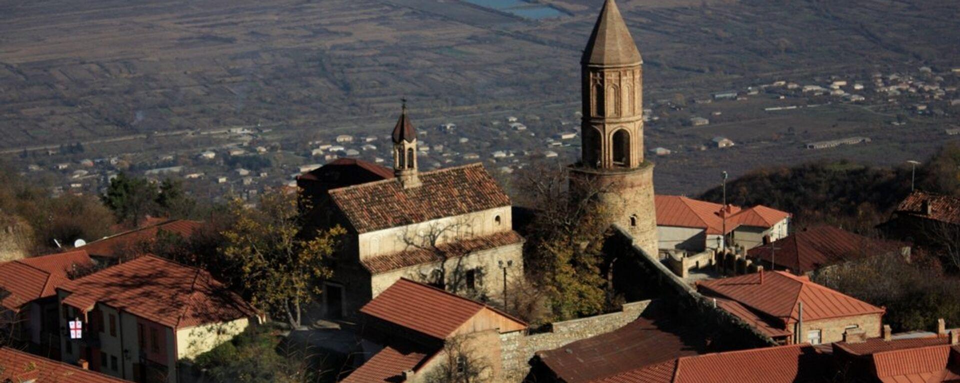 სიღნაღის წმიდა გიორგის სახელობის ეკლესია - Sputnik საქართველო, 1920, 14.09.2021