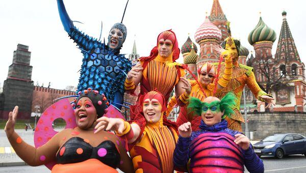 Cirque du Soleil-ის მსახიობებმა პარკ ზარიადიეში ზაფხულის სეზონი გახსნეს - Sputnik საქართველო