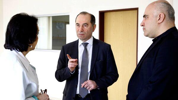 Министр труда, здравоохранения и социальной защиты Грузии Заза Сопромадзе - Sputnik Грузия