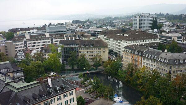 Вид на швейцарский Цюрих - Sputnik Грузия
