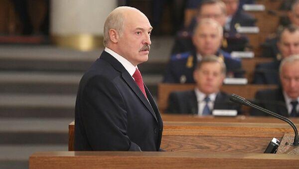 ბელარუსის პრეზიდენტი ალექსანდრ ლუკაშენკო - Sputnik საქართველო