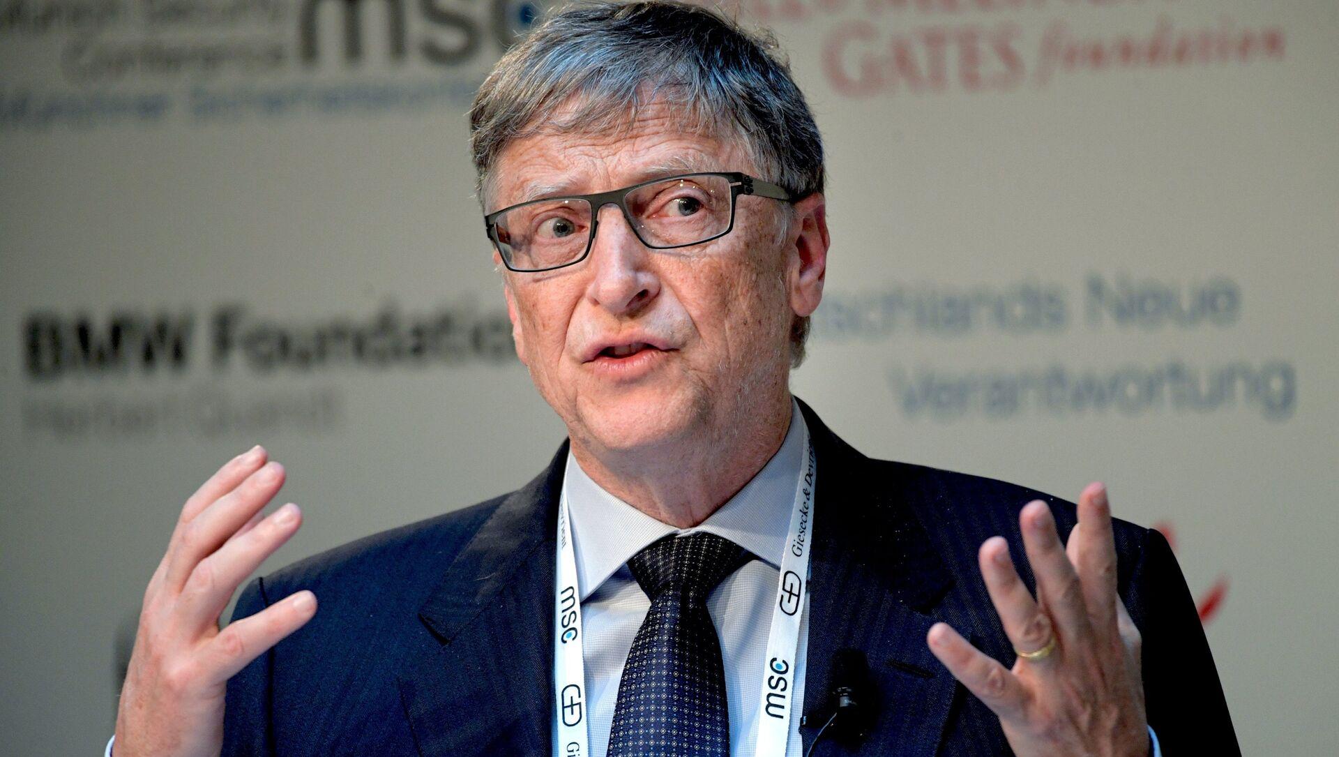 53-я Мюнхенская конференция по безопасности .Билл Гейтс - Sputnik Грузия, 1920, 08.02.2021