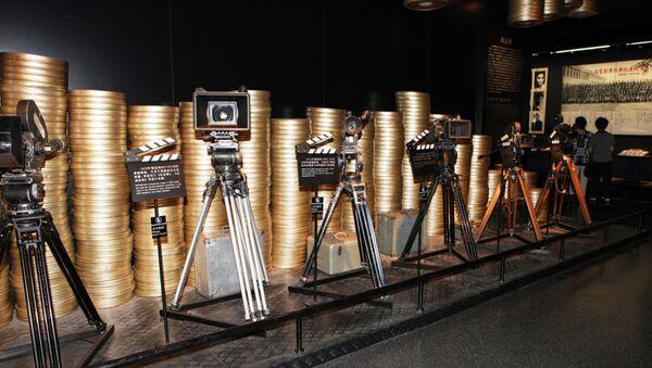 Кинокамеры на одной из улиц Китая - Sputnik Грузия