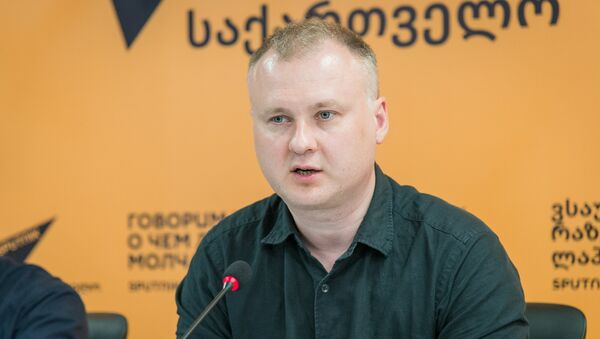 Российский политолог Владимир Киреев - Sputnik Грузия