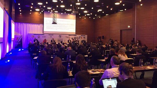 Пятый международный форум Caspian Energy Forum – 2018 в Тбилиси - Sputnik Грузия