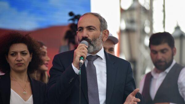 სომხეთის პრემიერ-მინისტრი ნიკოლ ფაშინიანი - Sputnik საქართველო
