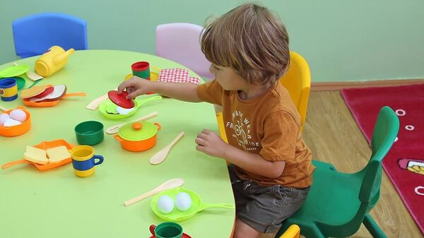 საბავშვო ბაღში - Sputnik საქართველო