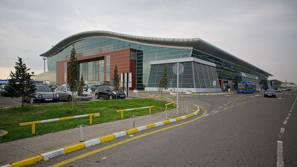 Тбилисский международный аэропорт - здание терминала отлета пассажиров - Sputnik Грузия