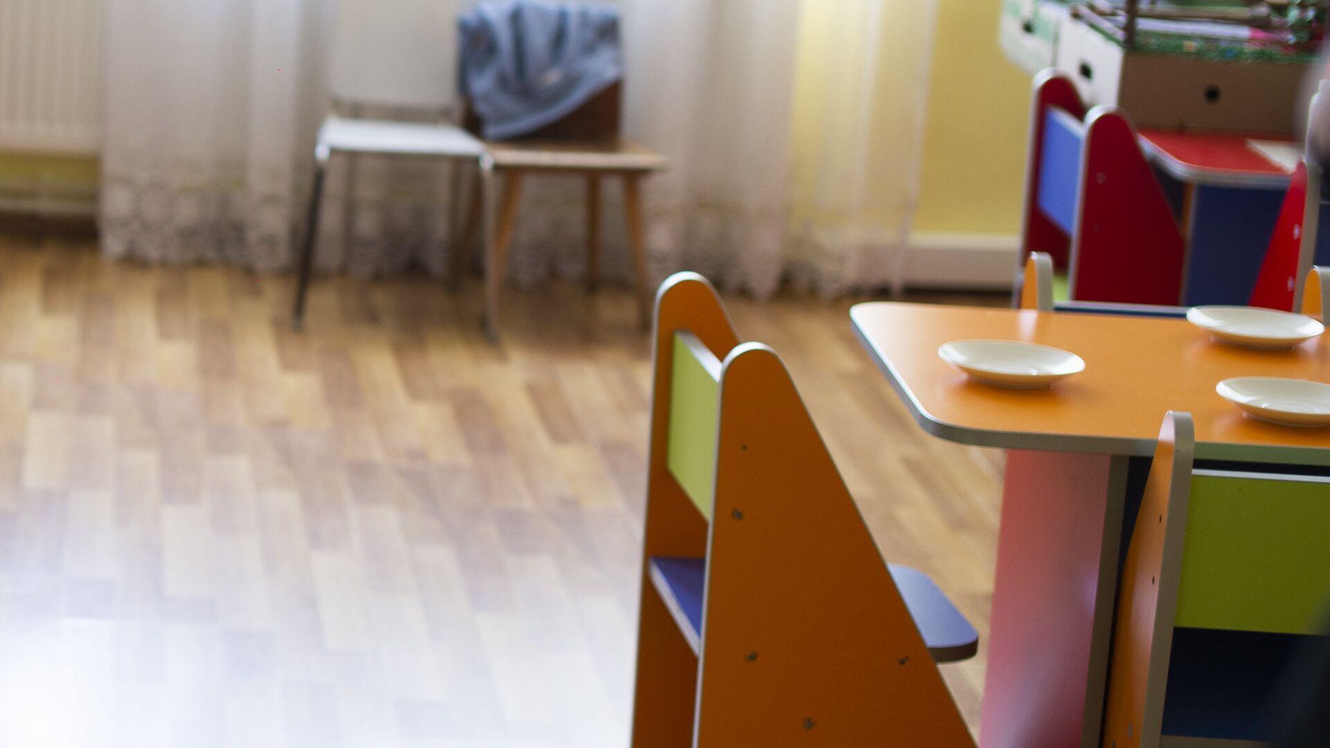 სასადილო ოთახი საბავშვო ბაღში - Sputnik საქართველო, 1920, 15.09.2021