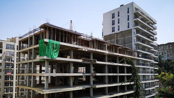 Строительство новых жилых зданий - Sputnik Грузия