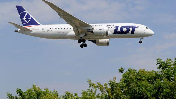 Samolot Boeing 787 PLL LOT - Sputnik საქართველო