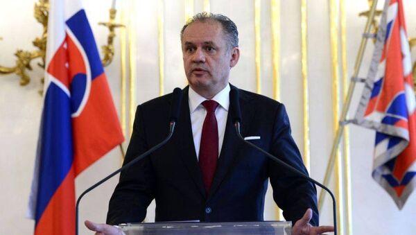 Президент Словакии Андрей Киска - Sputnik Грузия