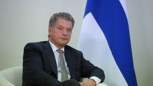 Президент Финляндии Саули Ниинисте - Sputnik Грузия