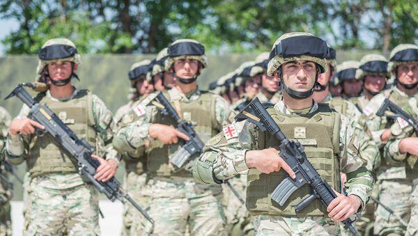 Открытие центра боевой подготовки в Вазиани - Sputnik Грузия