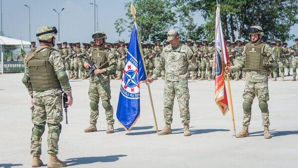 Новый Центр боевой подготовки открылся в Грузии - Sputnik Грузия