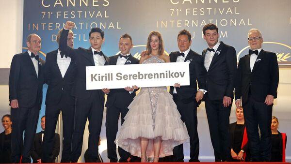 Церемония награждения съемочной группы фильма Лето на кинофестивале в Каннах - Sputnik Грузия