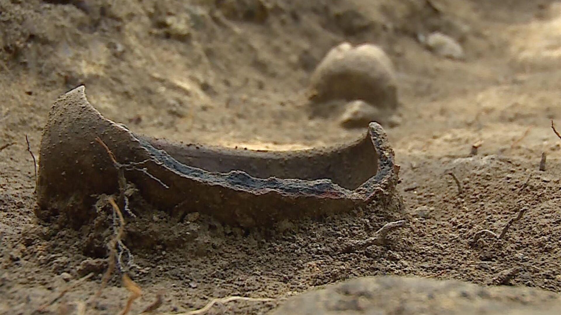 Археологи работают на раскопках на руинах древней церкви в селе Фуртио Шуахевского района Аджарии - Sputnik Грузия, 1920, 30.09.2021