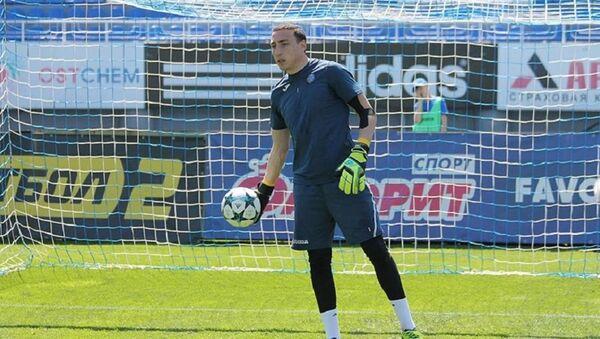 Вратарь сборной Грузии по футболу Заур Махарадзе - Sputnik Грузия