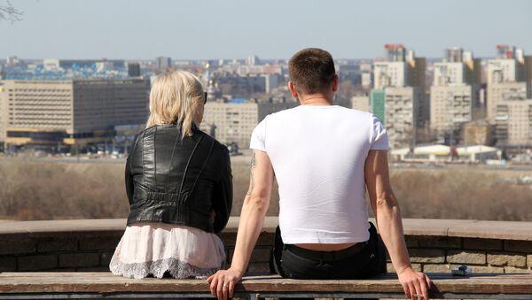 Молодая пара в Нижнем Новгороде - Sputnik Грузия