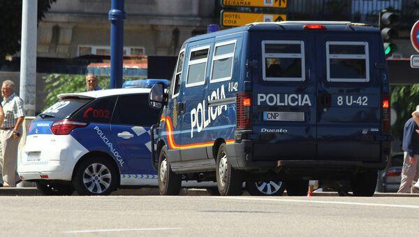 ესპანეთის პოლიცია - Sputnik საქართველო