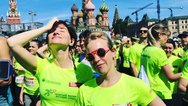 Софико Шеварднадзе приняла участие в марафоне Бегущие сердца - Sputnik Грузия