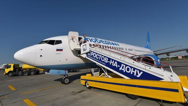 """ავიაკომპანია """"პობედას"""" თვითმფრინავი - Sputnik საქართველო"""