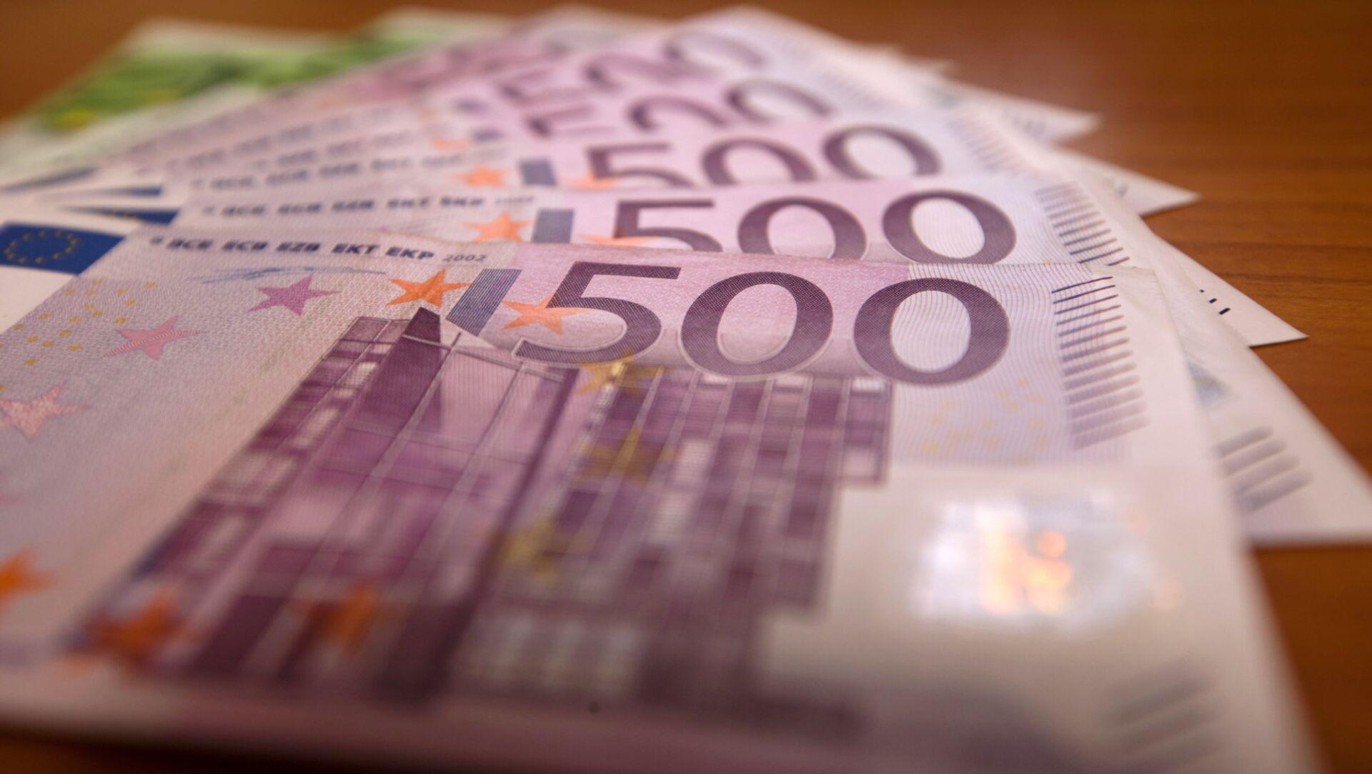 Евро. деньги - Sputnik Грузия, 1920, 07.06.2021